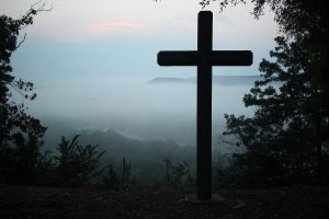 Christianity grew from the Cross